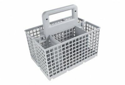 Whirlpool Dishwasher Grey Cutlery Basket Cage Tray With Detachable Handle