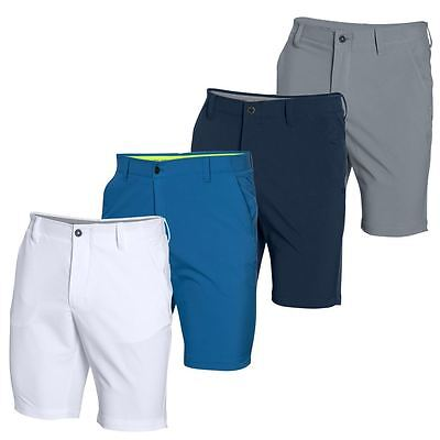 Under Armour 2016 HeatGear Match Play Tapered Flat Front Mens Funky Golf Shorts