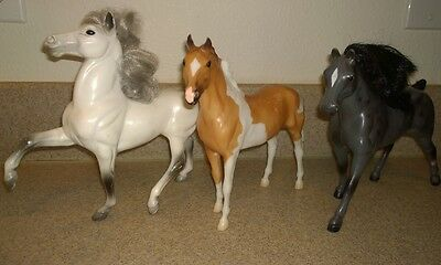 """Vintage BREYER Molding Co Reeves Battat Collectable Horses Figures Toys 7"""" 8"""""""