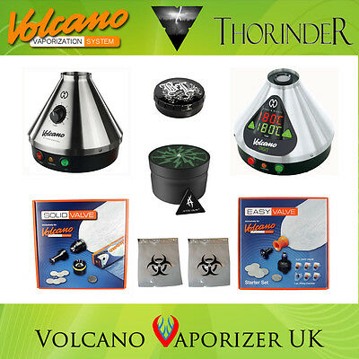 Volcano Vaporizer + Thorinder - Classic, Easy Valve or Solid Valve