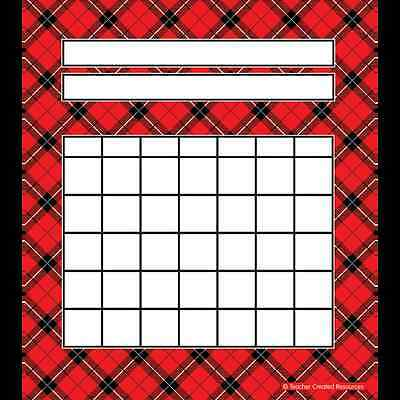 TCR Red Plaid INCENTIVE Charts Pack