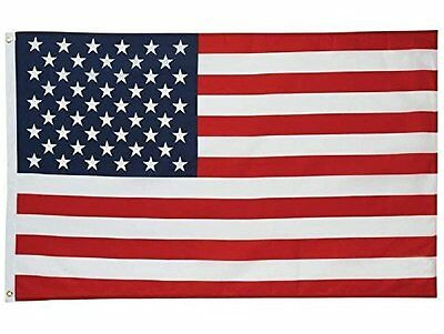 3x5 American Flag Of The Usa Stars Stripes Nylon Sewn Patriot USA America Best
