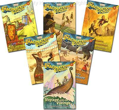 New IMAGINATION STATION SERIES Books 1 2 3 4 5 6 SET of 6 Adventures in Odyssey
