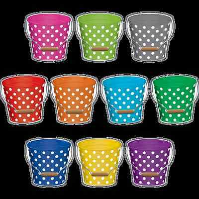 TCR Polka Dots Buckets ACCENTS