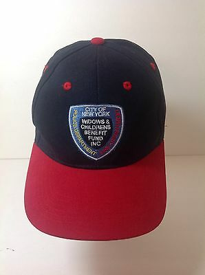 Sept 11 Cap Hat NYC WTC Forever Remembered FDNY NYPD Widow Child Benefit Fund