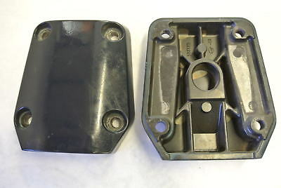 338741 337773 Johnson Evinrude Midsection Lower Mount Bracket Covers 90-300 Hp