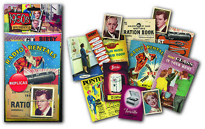 1950s Household nostalgic replica memorabilia pack    (mp)