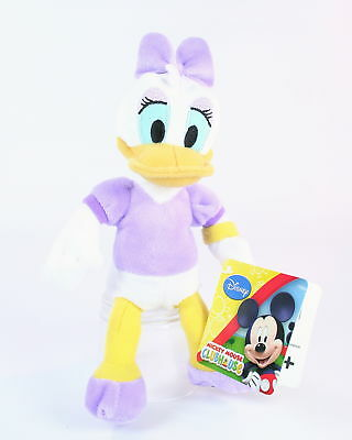 """Mickey Mouse Clubhouse DAISY DUCK 8"""" plush soft toy Disney Posh Paws - NEW!"""