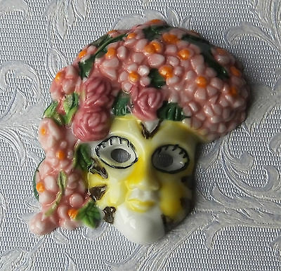 Dolls house miniatures: Venetian decorative mask