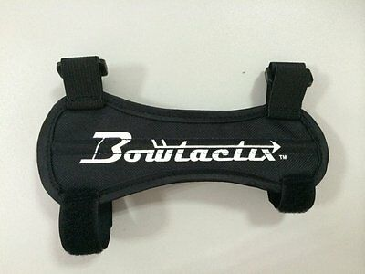 Bowtactix Ultra Light Weight Archery Arm Guard, Forms to the Arm for a Great Fit