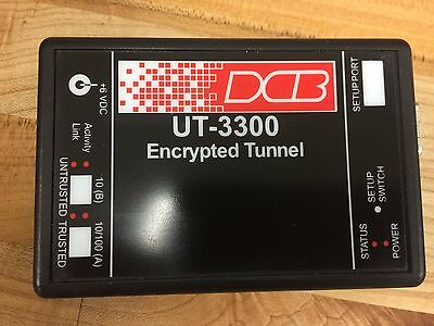 Data Comm for Business Encrypted Ethernet Tunnel UT-3300 IP Networks Multicast