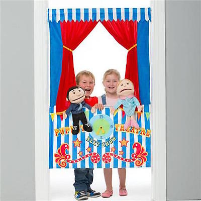 Puppet Theatre - Hand Puppets - make your own family. 23 - 40cm Tall Puppets