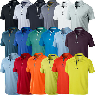 Oakley 2016 Elemental 2.0 Mens Hydrolix Performance Golf Polo Shirt