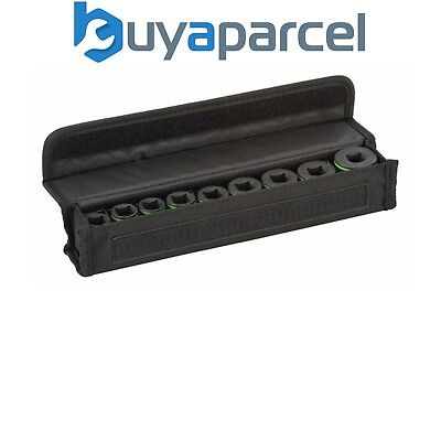 Bosch 2608551100 9 Piece Impact Wench Socket Set 1/2 Inch Drive 1/2""