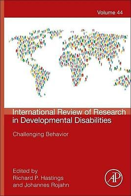 International Review of Research in Developmental Disabilities 44. Challenging