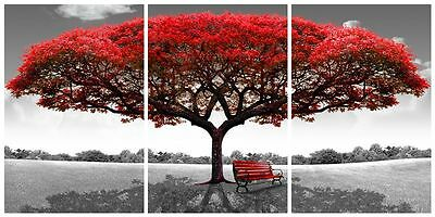 HD Canvas Print home decor wall art painting Picture- tree 3PC #1177