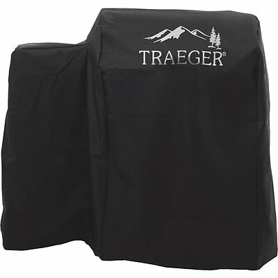 Traeger Series 20 Full Length Heavy Duty Black All Weather Grill Cover