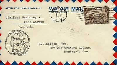 CANADA 1ers vols first flights airmail 132
