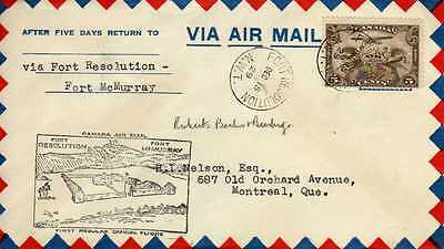 CANADA 1ers vols first flights airmail 139
