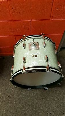 Slingerland 1960's White Marine Pearl Piece Drum Set