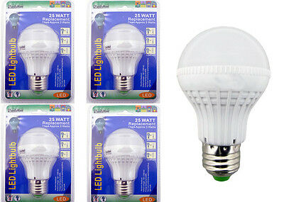 X4 25 WATT Replacement LED Light bulbs Consumption of Approx 3 Watts