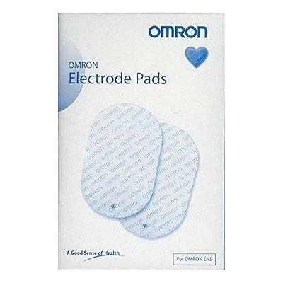 Omron TENS Electrode Pads For Omron E1 2 3 And 4 TENS Machines Pack of 2 - New