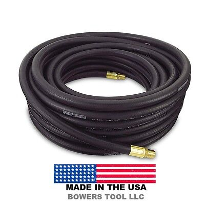 Craftsman 50ft 300 PSI Rubber Air Hose 3/8in Internal Diameter Made in USA