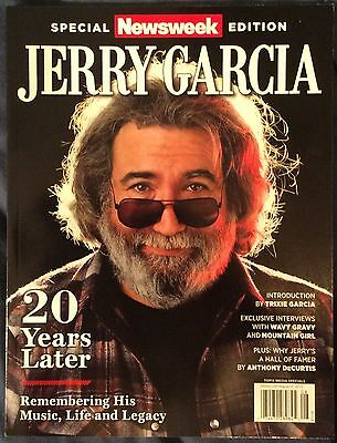 JERRY GARCIA Special NEWSWEEK Edition 2015 20 Years Later With Grateful Dead