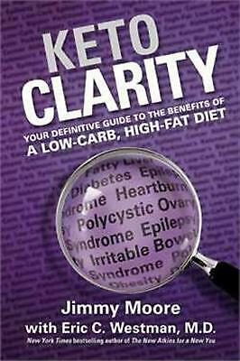 Keto Clarity by Jimmy Moore Hardcover Book (English)