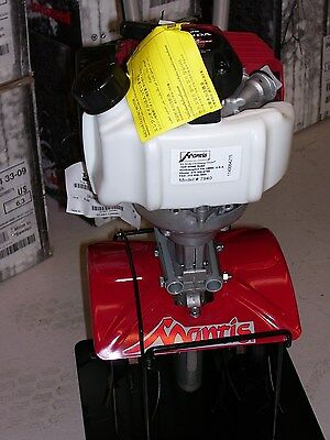 NEW Mantis 4-Cycle Gas Tiller 7940, Honda Eng, Soft Grips, Warranty - NO RESERVE