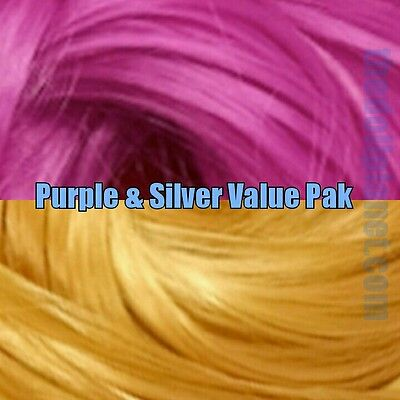 Fuchsia /& Gold XL 4oz 2 Color Value Pack Nylon Doll Hair to Reroot Barbie Poppy