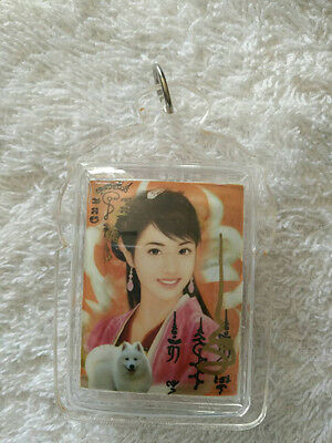 Thai Buddha Amulet 9 Tails Fox Lady With Oil  Kru Ba Beng Magic Collection #L