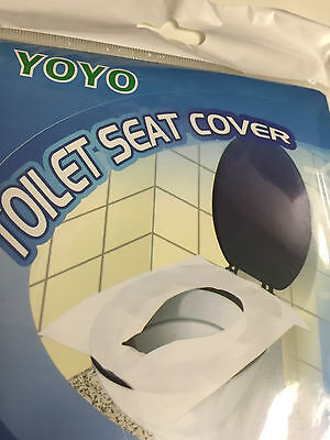 Disposable Toilet Seat Covers Hygiene Protection for Washroom 10-240 covers/pack