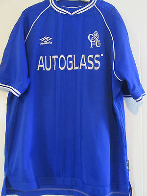 Chelsea 1999-2001 Home Football Shirt Size Adult Extra Extra Large CFC /39641