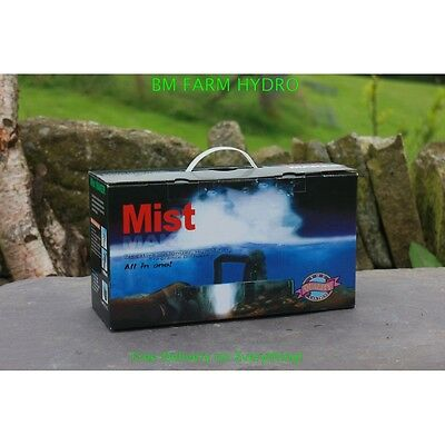 Mist Maker 3 Humidifier Vapor Ponnd Hydroponics Humidity Water Feature Plants