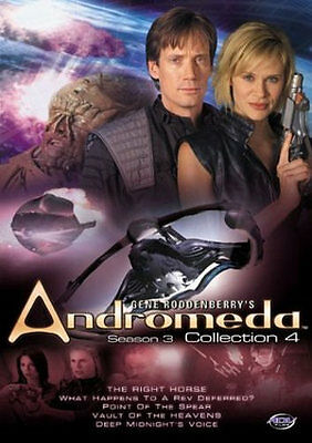Andromeda - Season 3: Vol. 4 (DVD, 2004, 2-Disc Set) - Free Shipping on 5+