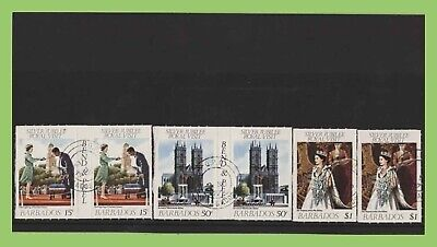 Bahamas 1977 Silver Jubilee roulettes pairs set used