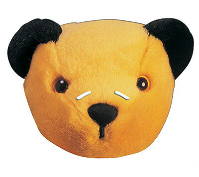 Sooty Official The Sooty Show 2D Card Party Face Mask Fancy Dress Up Retro 80s