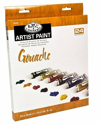 Royal & Langnickel 12ml Gouache Painting Colour Pack of 24