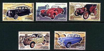 Malta 2003 Automobile Stamp Set