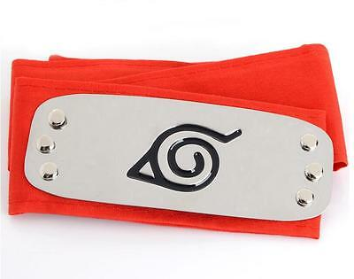 DZ776 On Sale NARUTO Ninja Headband Head Band bandana Cosplay Hatake Kakashi RED