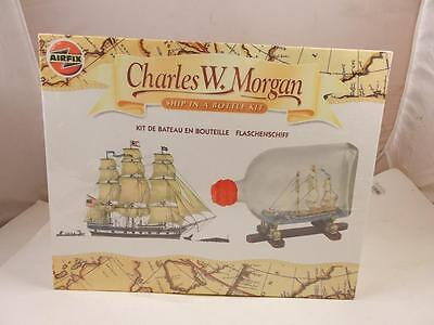 New Airfix Sealed Ship In A Bottle Charles W Morgan 60002