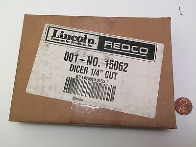 """Lincoln Redco Insta Cut Dicer 1/4"""" NEW! Blade Assembly Model 15062"""