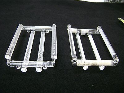 "3406  2 Quartz 4"", 50 Slots Wafer Carriers (Quartz Boats)"