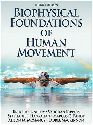 Biophysical Foundations of Human Movement by Bruce Abernethy Hardcover Book (Eng