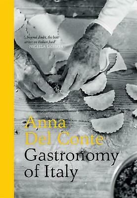 Gastronomy of Italy by Anna Del Conte (English) Hardcover Book Free Shipping!