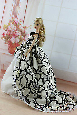 Fashion Royalty Princess Party Dress Clothes/Gown For 11.5in.Doll S336