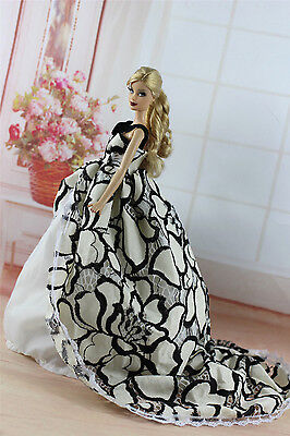 Fashion Royalty Princess Party Dress Clothes/Gown For Barbie Doll S336
