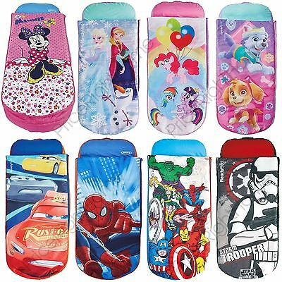 Junior Ready Beds Disney Minnie Minions, Frozen, Cars, Star Wars + More Free P+P