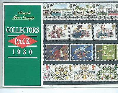 Gb - Collectors Packs - Commemoratives  - 1980 - Unmounted Mint